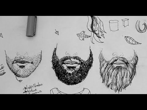 How to Texture Hair Drawing Pen And Ink Drawing Tutorials