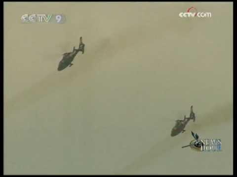 Day 2 of China Russia anti-terror drill - CCTV 072409