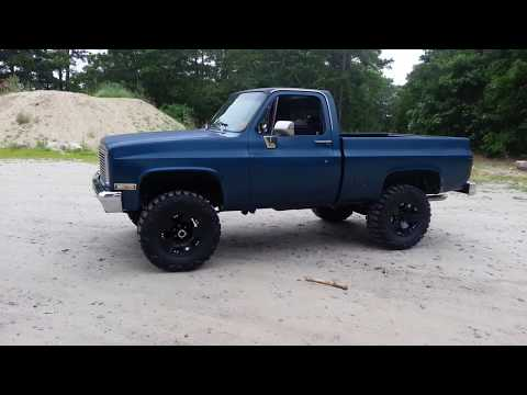 1985 chevy k10 rockstar xds nitto mud grapplers