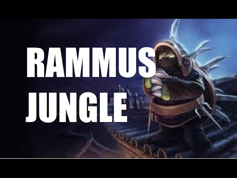 League of Legends Really Bad AP Rammus Jungle Full Game Commentary