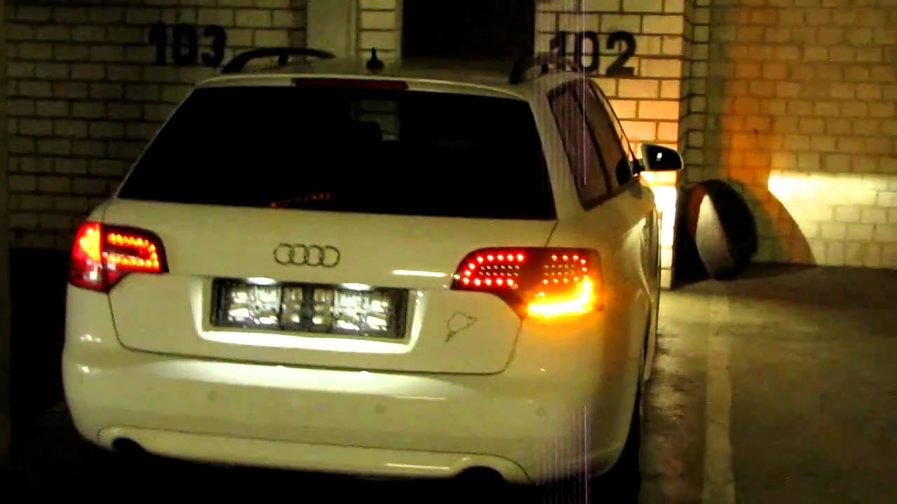 Dectane Led The Difference Audi A4 B7 8e Avant Youtube