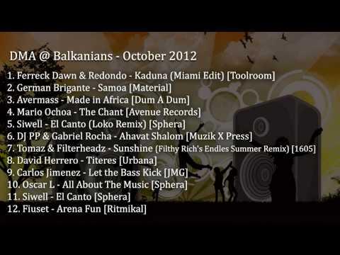 DMA @ Balkanians - Octubre 2012 - October 2012