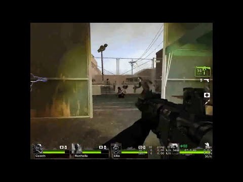 left 4 dead 2 Swat mod Test