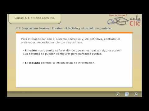 Curso de Windows 7. Teoria 2. El sistema operativo