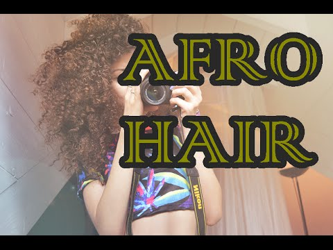 HAIR MINUTES: AFRO HAIR Tutorial   RaroikaTV