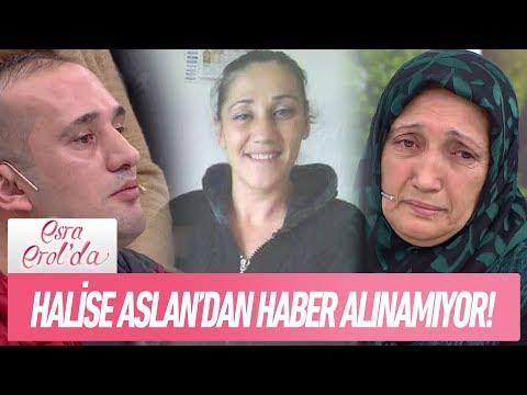 Gülümser Hanım kayıp kızı Halise'yi arıyor - Esra Erol'da 12 Ocak 2018