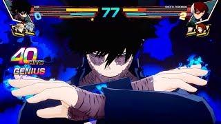 My Hero Academia: One's Justice - Dabi vs Todoroki Gameplay (1080p)