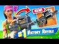 *NEW* COMPACT SMG + Founder Skin Gameplay Fortnite Battle Royale!