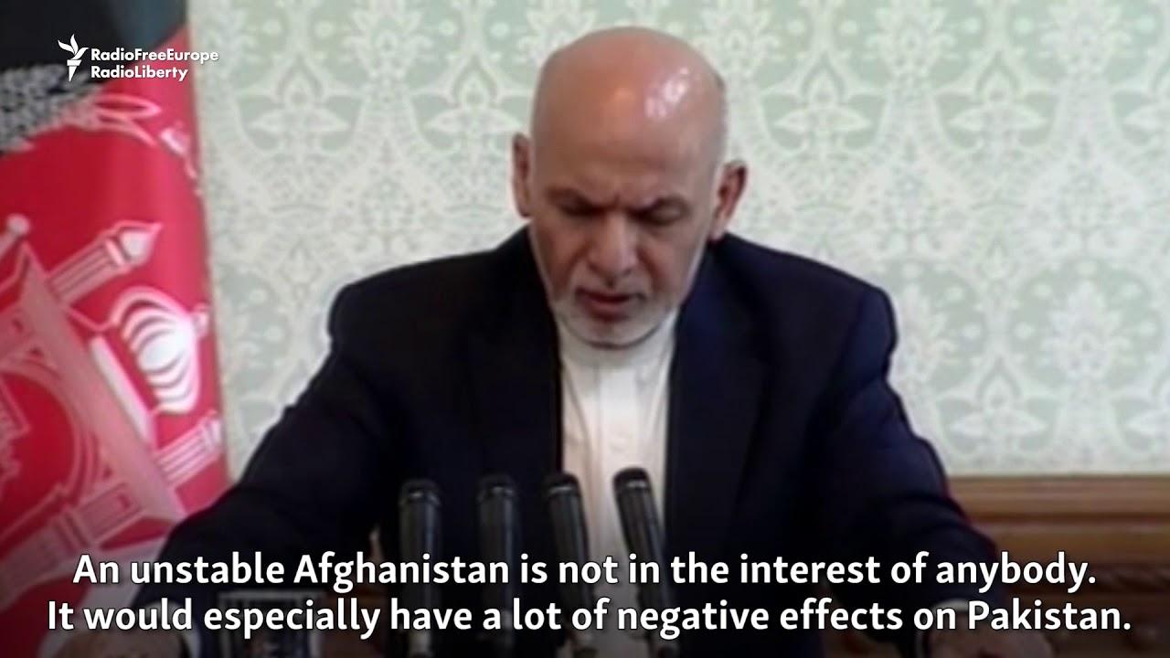 Afghan President Seeks 'Long-Lasting Peace' With Pakistan