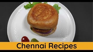 Simple Veg Hot Dog Recipe | How to make Simple Veg Hot Dog Recipe | Veg Hot Dog
