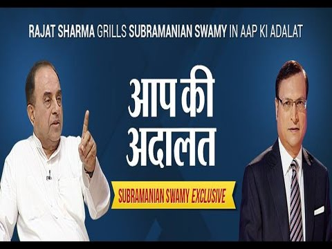 Dr Subramanian Swamy in Aap Ki Adalat ( Full Episode ) klip izle