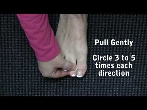 Feet Exercises - Toe Circles for Healthy Happy Feet & Foot Care