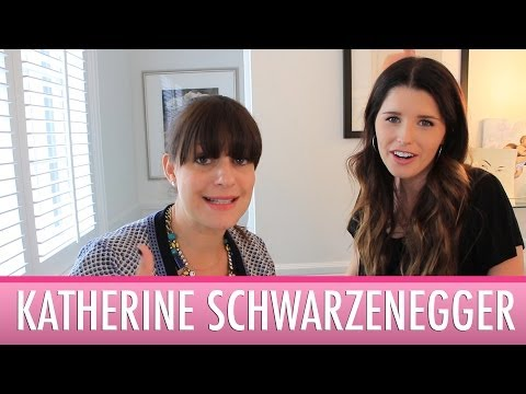 Katherine Schwarzenegger talks Beauty Favorites and her New Book!