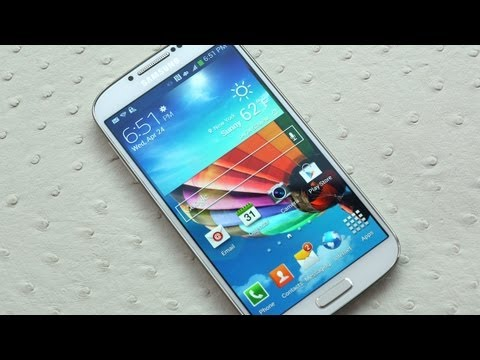Samsung Galaxy S4 First Look
