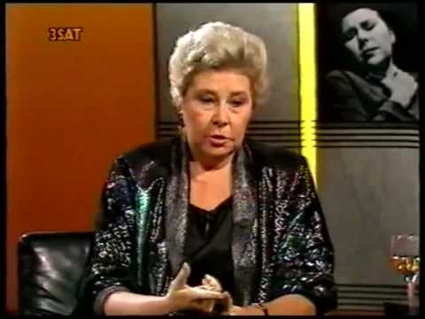 Christa Ludwig - Da Capo - Interview with August Everding 1989