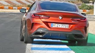 BMW 8 Series Coupe (2019) Really Sporty??? - 530-HP M850i xDrive on Track