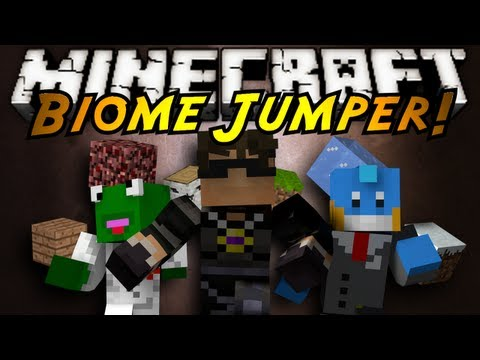 Minecraft: BIOME JUMPER!