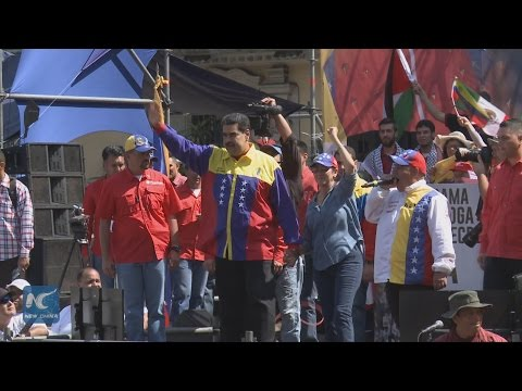 Venezuela protests Obama in anti-imperialist street protests