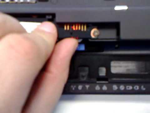 Lenovo t500 sim card slot driver