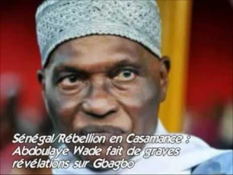 Sénégal Rébellion en Casamance Abdoulaye Wade fait de graves révélations sur Gbagbo
