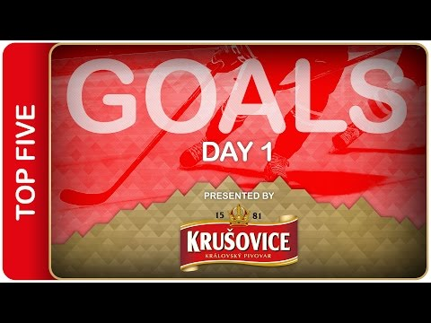 Top 5 Goals | Day 1 | #IIHFWorlds 2016