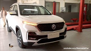 MG Hector Hybrid Sharp Internet Inside 2019   Real-life review