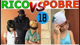 RICO VS POBRE FAZENDO AMOEBA / SLIME #18