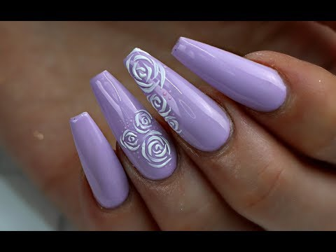 HOW TO: EASY TEXTURED GEL NAIL ROSES