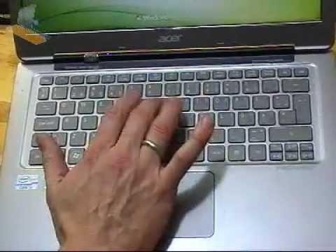 Acer Aspire S3 Ultrabook Teardown / Replacing Motherboard Or Keyboard