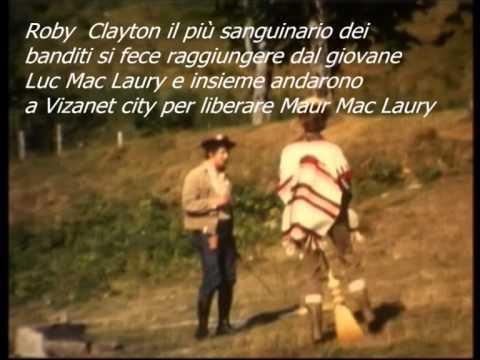 a Cavallo Di Una Scopa Filmino Western Girato Alla Fine Degli Anni 60 Al Butale. video