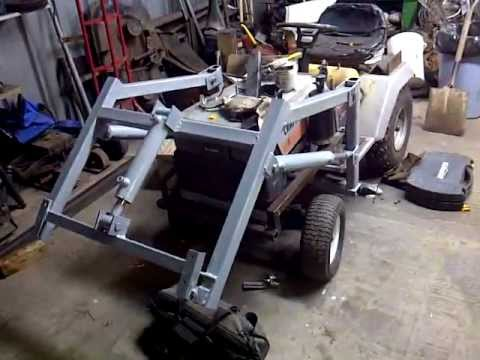 Craftsman Tractor Loader Update April 2012 Youtube