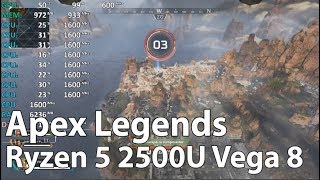 Ryzen 5 2500U Vega 8 Review - Apex Legends - Gameplay Benchmark Test (Acer Aspire 3 A315-41)