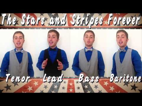 The Stars and Stripes Forever -- One Man Barbershop Quartet