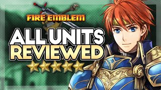 Fire Emblem 7: Full Unit Review Compilation