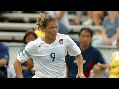 WNT vs. Brazil: Mia Hamm Goal - May 22, 1999