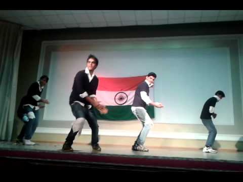 Tattad tattad dance by kgmu 1st year students