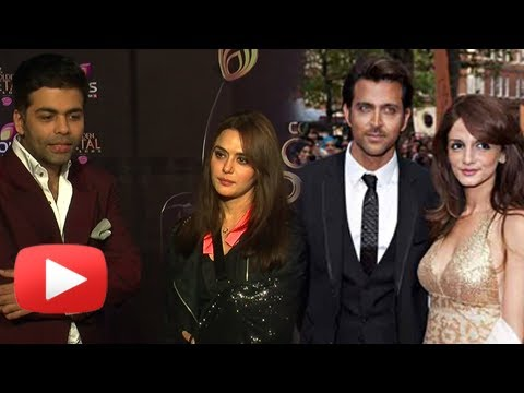 Madhuri Dixit, Anil Kapoor, Karan Johar React On Hrithik Roshan - Suzzane Roshan Divorce video