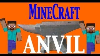 How to use Anvil in Minecraft 1.8