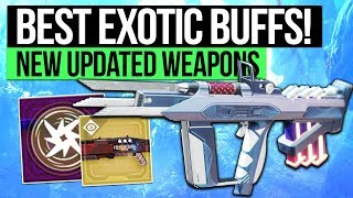 Destiny 2 | BEST EXOTIC WEAPON BUFFS! - Top Exotic Weapon Improvements in the March Update!