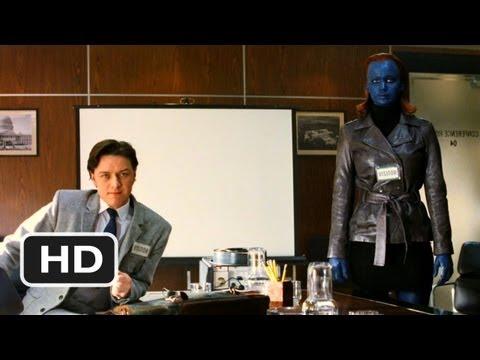 X-Men: First Class #1 Movie CLIP - Magic Trick (2011) HD