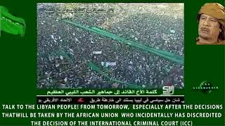 The Devil's Double - Pro Gaddafi Rally (Green Libya) - 10b - Tripoli, 01-07-2011 - Part 2/3 (English subtitles)