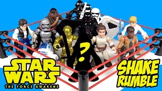 STAR WARS Shake Rumble with Star Wars Force Awakens Star Wars Toys & Unboxing by KiDCity