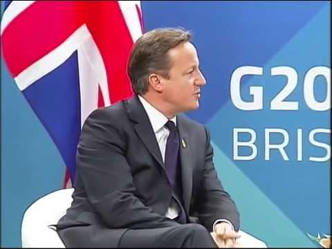 PM Modi meets UK PM Cameron