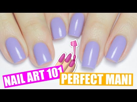 HOW TO PAINT YOUR NAILS PERFECTLY + NON DOMINANT HAND TIPS   NAIL ART 101
