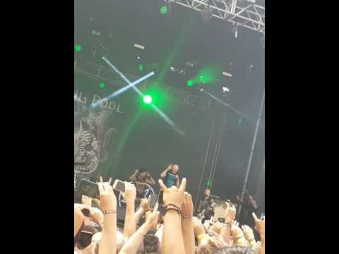 Chicago Open Air 2016 - Drowning Pool featuring 82 year old John Hetlinger from American Idol