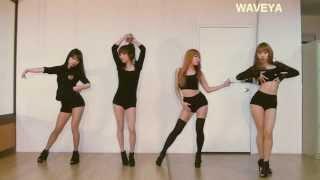 Waveya miss A Hush cover dance