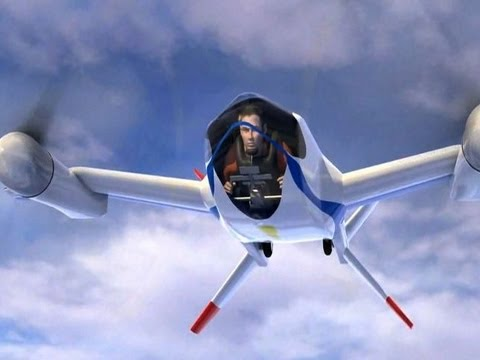 Flying Car For Sale >> The NASA Personal Puffin Flying Machine - Personal Aircraft - YouTube
