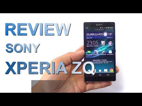 Review do Sony Xperia ZQ