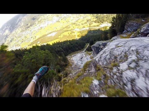 Speedflying Through The Alps