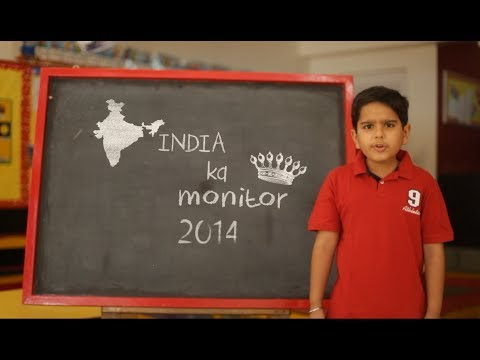 India Ka Monitor: Indian General Elections 2014